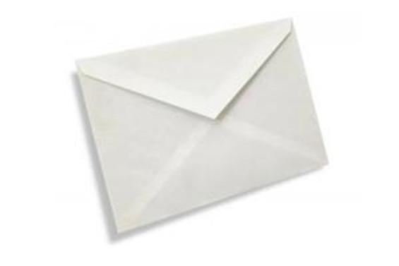 İsimsiz zarflara dikkat!