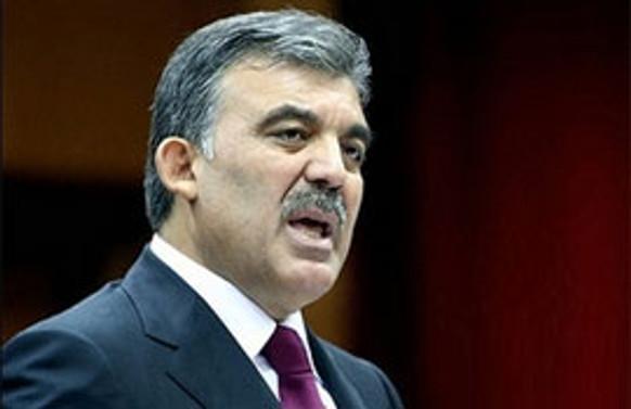Cumhurbaşkanı Gül'den Sivas Kongresi mesajı
