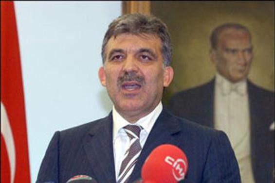 Cumhurbaşkanı Gül, Orgeneral Başbuğ'u kabul etti.