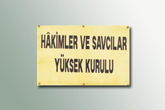 HSYK üyeliği için geçici liste yayımlandı