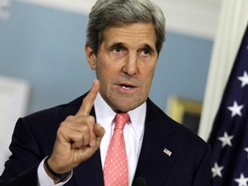 Kerry'den sürpriz Bağdat ziyareti