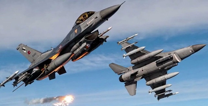 IŞİD'e hava operasyonu