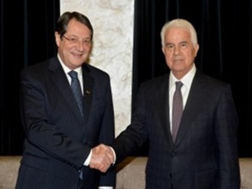 Kıbrıslı liderler özlü konuları konuştular
