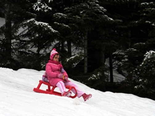 Ilgaz'da işletmeciler, kar yağışını bekliyor