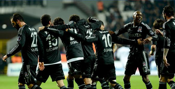 Beşiktaş, Kasımpaşa'yı farklı geçti