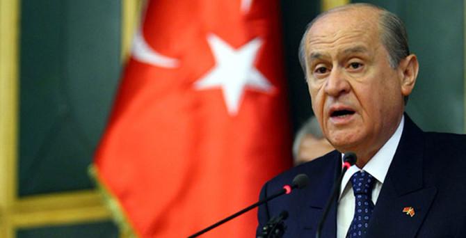 MHP liderinden 'koalisyon' açıklaması