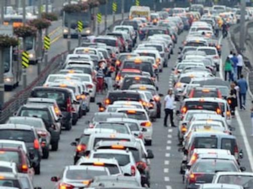 Trafikteki araç sayısı 18 milyon 288 bini aştı