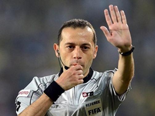 Çakır'a UEFA Avrupa Ligi'nde görev