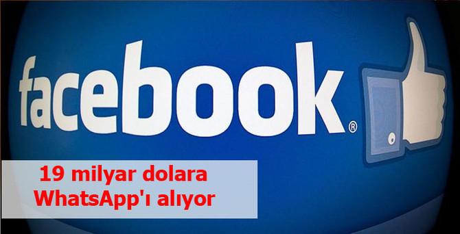 Facebook WhatsApp'ı satın alıyor