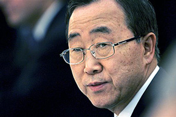 Ban Ki-mun, Kıbrıs konusunda Türkiye'ye teşekkür etti