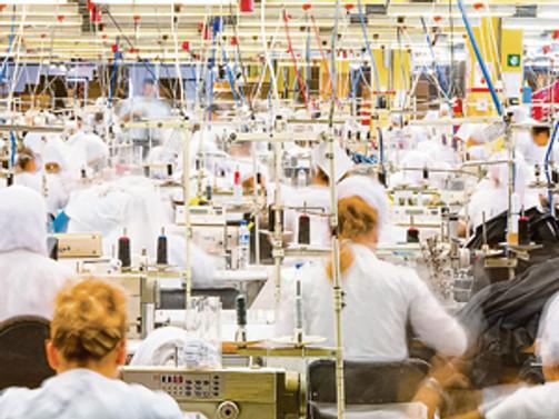 Tekstil sektörü, AB'ye ihracatta istikrarlı
