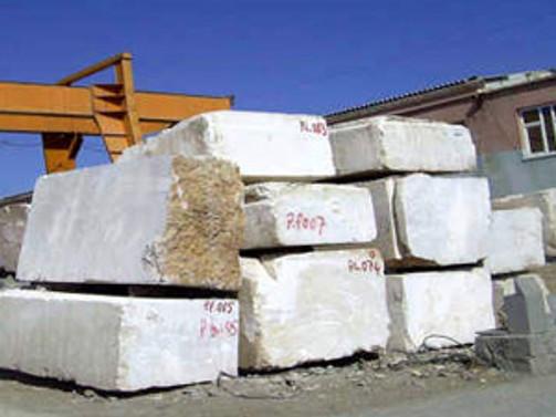 Mermer ihracatının düşmesinde Çinliler etkili oldu