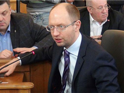 Yatsenyuk IMF'ye bağlı kalma sözü verdi