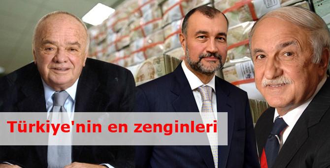 Türkiye'nin en zenginleri