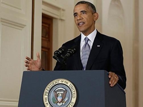 Obama'dan sürpriz ziyaret