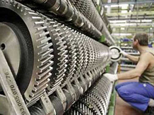 Almanya'da sanayinin çarkları hızlandı