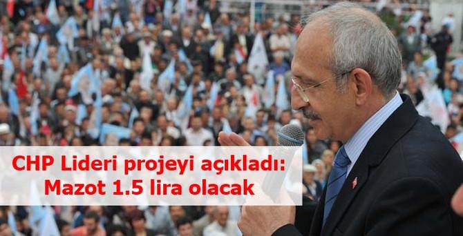 """Kılıçdaroğlu'ndan """"mazot"""" açıklaması"""