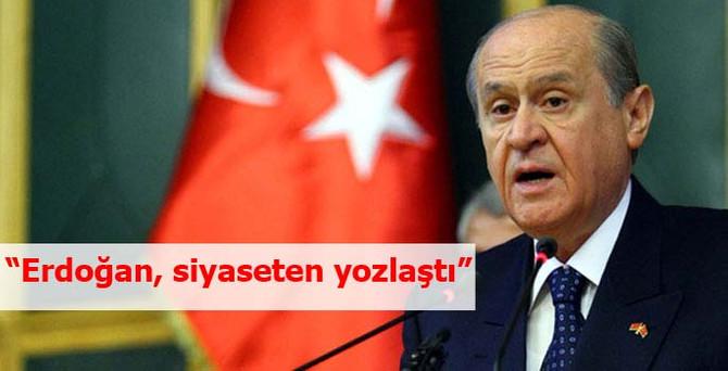 """""""Erdoğan siyaseten yozlaştı"""""""