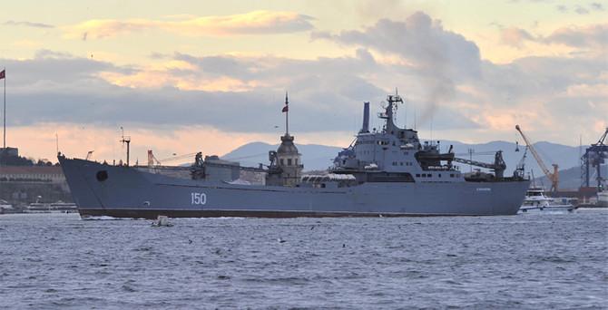 Düşman savaş gemileri Marmara'da