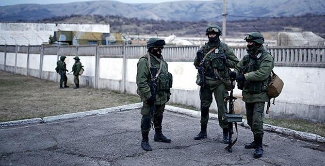 Ukrayna ile Rus askerleri arasında tansiyon yükseldi