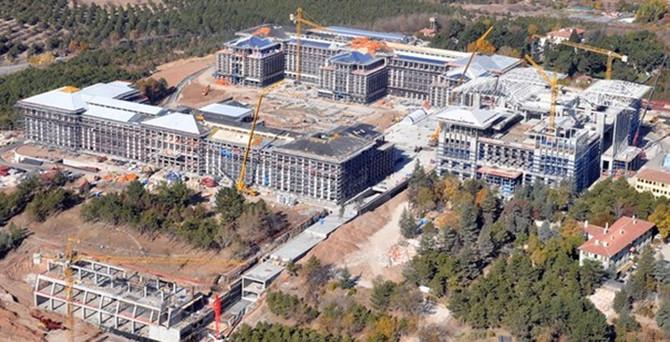 AOÇ'de yapılan Başbakanlık binası için şok karar