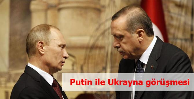 Başbakan, Putin ile görüştü