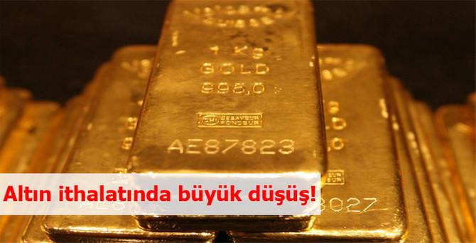 Türkiye'nin altın ithalatı şubatta yüzde 80 düştü
