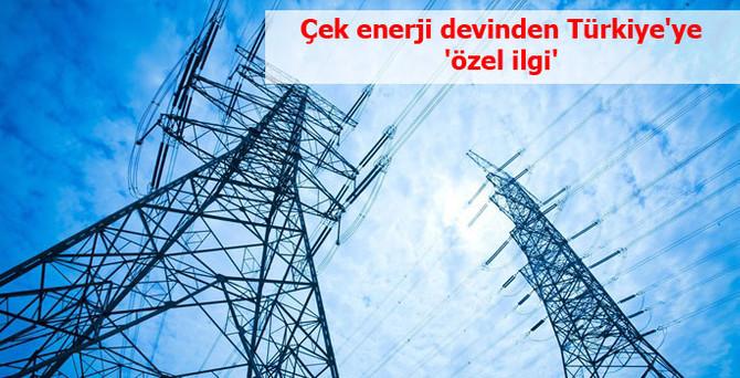 Çek enerji devinden Türkiye'ye 'özel ilgi'