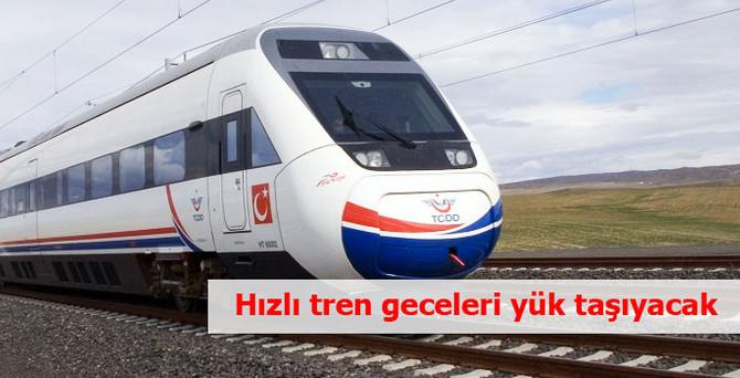 Hızlı trenle, Bursa-Adana-Konya hatlarında yük taşımacılığı yapılacak