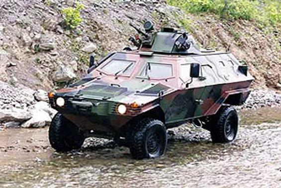 Otokar zırhlı araçlarını Londra'da sergileyecek