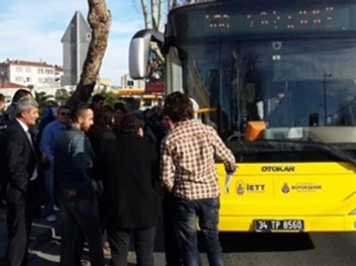 Üniversiteli kız halk otobüsünde vuruldu