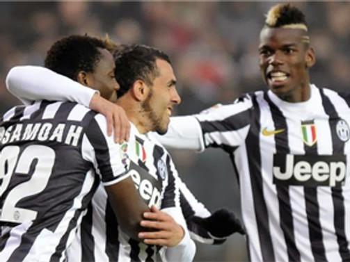 Juventuslu futbolcular İspanyolların kıskacında