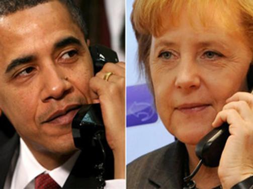 Obama ve Merkel'den Ukrayna mesaisi