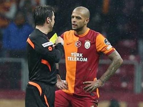 Galatasaraylı Melo, PFDK'ya sevk edildi