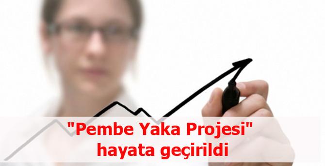 """Pembe Yaka Projesi"" hayata geçirildi"