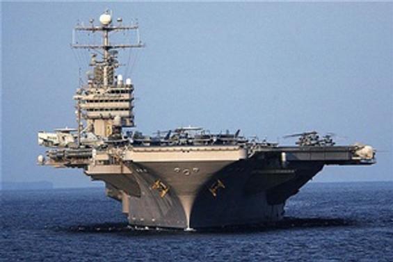 ABD savaş uçağı gemisi Antalya'da