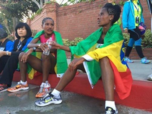 Los Angeles Maratonu'nda zafer Etiyopyalı atletlerin