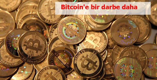 Bitcoin'e bir darbe daha