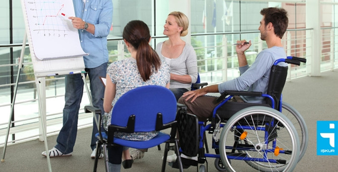 İŞKUR'dan engellilere 26 bin TL'lik hibe desteği