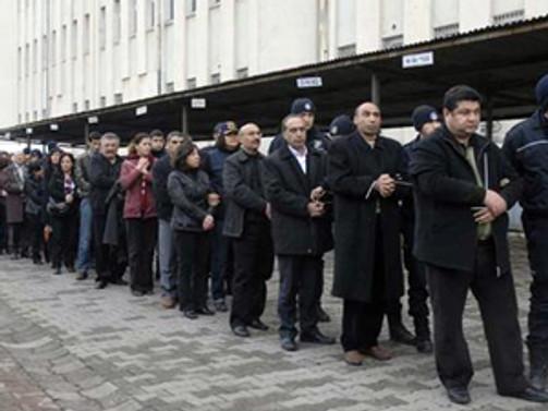 KCK'da 45 kişi tahliye edildi