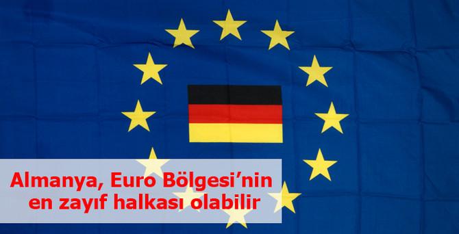 Almanya, Euro Bölgesi'nin en zayıf ekonomisine dönüşebilir