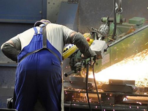 Euro Bölgesi'nde sanayi üretimi azaldı