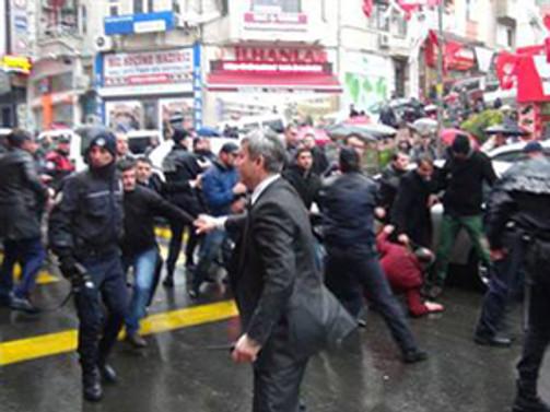 HDP ve CHP'ye saldırı