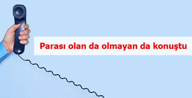 Türkiye, geçen yıl  32 milyar liralık 'alo' dedi
