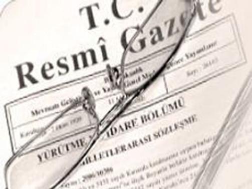 62. Hükümet'in güvenoyu Resmi Gazete'de