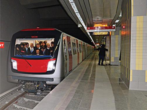 Ankara yeni metro hattına kavuştu