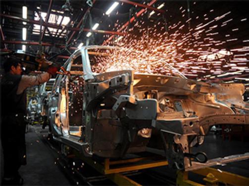 Euro bölgesinde sanayi üretim geriledi