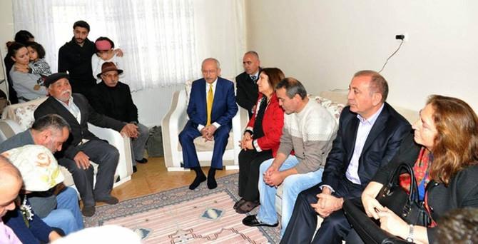 Kılıçdaroğlu Berkin'in ailesini ziyaret etti