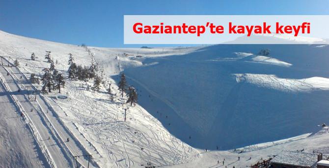 Gaziantep'te kayak keyfi başlıyor!