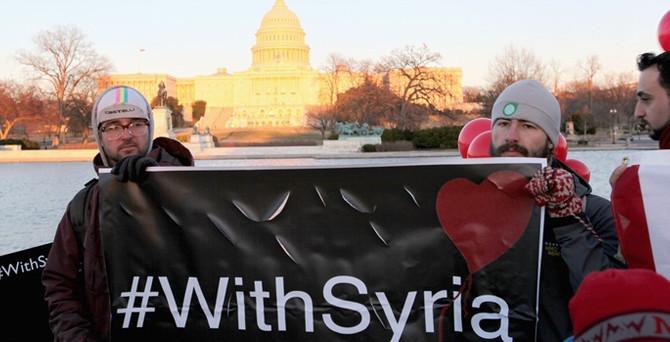 Dünya 'Seninleyiz Suriye!' diyor
